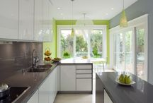 dream home - kitchens / by Emily Jones