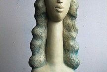Artist Portfolio - Katarzyna Nowak / Born 14.09.1963. Graduated from the Academy of Fine Arts in Wroclaw, Department of Ceramics and Glass. In 1989 he graduated from the ceramics studio of Professor Krystyna Cybińska. It deals with sculpture and ceramics. Creates a clay sculpture fired at 1220 ° C. Her works are in private collections in Poland, Austria, France, Germany, Netherlands, USA and India.