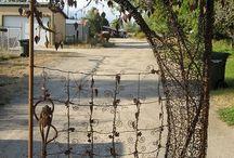 grind/ staket