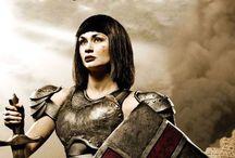 Woman warrior in Christ