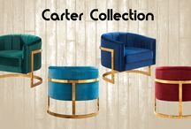Carter Accent Chair Collection
