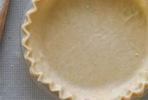 Pastries and pie crusts
