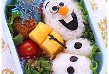 Bento Box ideas & recipes / Bento | Dosirak | Biandang | Baon | Tiffin  Ideas for healthy lunch boxes with an Asian theme  Includes : Kyaraben and Oekakiben / by Tony Melling
