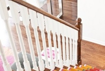 Home decoration / Stair carpets