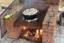 Outdoor Kitchen Stove