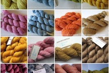 Yummy Scrummy Yarn / All the yarn I really love from Independent Dyers and those lovely accssories that knitters can't do without.
