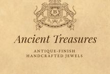 Ancient Treasures / Antique-finish, Handcrafted Jewels by BANSWARI.COM