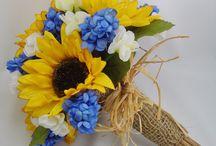 Flowers, colours and joyful