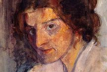 Modersohn-Becker, Paula 1876-1907 / Paula was the first female to paint female nudes.