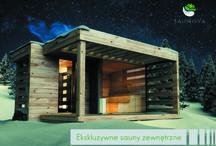 Saunova / [ENG] Saunova is a series of exclusive outdoor saunas made from wooden logs. This project is aimed at both - individual  and business customers who want to afford a little bit of luxury.   [PL] Saunova to seria ekskluzywnych saun ogrodowych, zbudowanych z bali drewnianych. Nasza propozycja skierowana jest zarówno do Klientów indywidualnych, jak i biznesowych. Oferujemy nie tylko produkcję saun, ale również darmowy montaż na terenie całego kraju. Zapraszamy do zapoznania się z naszymi saunami.