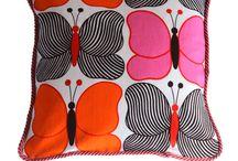 My throw pillows & decorative pillows.