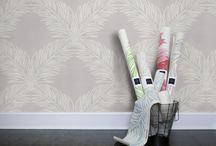 Walls / Printed Grasscloth and wall treatments