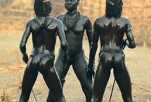Nuba of Kau / Pictures of Nuba people from Sudan