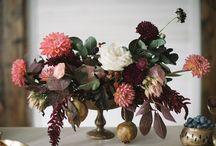 seasonal workshop series : fall / Inspiration for les Fleurs seasonal workshops