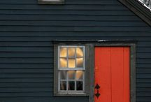 Red Doors / A red door means welcome.  / by Anna Bommel
