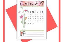 Calendarios y Agendas Para Imprimir / Calendarios y agendas imprimibles