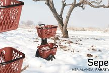 Alışveriş Sepetleri / Shopping Baskets