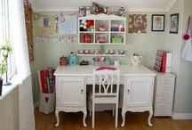 office at home  / home office organization & decorating  / by Layne Quintanilla ~ Mama Q Blogs It