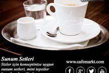 Farklı Sunumlar / Hepsi için bizimle irtibata geçin. 0212 514 51 18 http://blog.cafemarkt.com/ www.cafemarkt.com