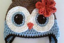 Crochet & Knit Bonnets
