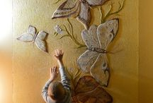 Murales en relieve