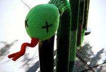 Crochet - Yarn Bombing & Other bizzar crochet