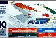 expo 1992 genua / -project of r enzo piano  -area of the expo 1992 -waterfront