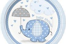 Blue Elephant Baby Shower Ideas / Blue Elephant Baby Shower Ideas for the cutest blue elephant theme baby shower. We have added some of our own favorite Blue Elephant party supplies, and added some other ideas from Pinterest members on how to throw the cutest Blue Elephant Baby Shower ever!