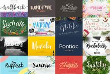 The Fontabulous Font Bundle / An awesome Font Bundle From www.TheHungryJPEG.com for November. This bundle has 70 fonts and tons of vector, AI, EPS, and JPEG images included. Perfect for the designer, Crafter, and creator worldwide. Come get yours before the end of November, because once it's gone it's gone!!! =D