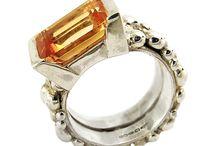 Extravagant Jewel Cocktail Rings / Oversize Jewel Dress rings.