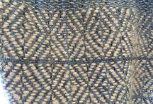 My weave / Tessuti realizzati da Giulietta Salmeri su telaio a mano