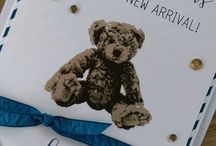 Stampin' Up! Baby Bear / Stampin' Up! Baby Bear cards