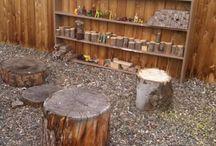 Outdoor block area
