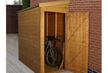 bike storage / by Lisa Fotheringham