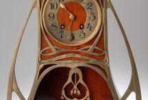 Art Nouveau clocks