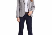 Professional Dress for Women / Consider the industry when choosing interview and daily work attire. Things to be careful of are low necklines (add a tank or camisole as needed), short skirts, tight clothing and inappropriate shoes. Check with our office if you have questions!  / by Drury Career Planning & Development