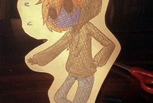 CreepyPasta Paper child