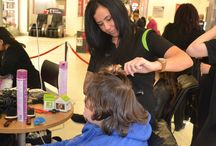 The Tiny Babies, Big Appeal / Level 2 hair students from Bournville college put on an amazing event in Northfield shopping centre today to raise money and also awareness for the Tiny Babies, Big Appeal.
