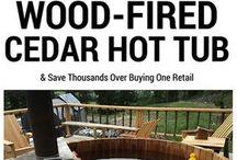 woodfored hot tub