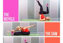 Pilates / pilates tutorials and exercises