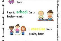 Exercising For Healthy Bodies Kindergarten