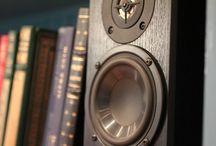 Audio Speakers / Audio Speakers, bookshelf speakers, floor standing speakers, home theater speakers, in-ceiling speakers, on wall speakers, speaker mounts, wireless speakers