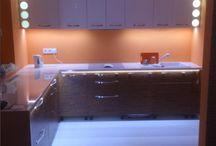 Zabudowy kuchni / Meble kuchenne tworzone na zamówienie i pod wymiar danego lokalu