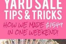 garage sale tips / by Ann Larsen