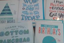 Gifted Paper Goods / Unique, thoughtful and hilarious greeting cards