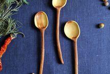 Siniy Les / Design wood spoons