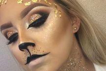 maquillaje felinos