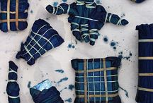 Fabric : Shibori and Sashiko