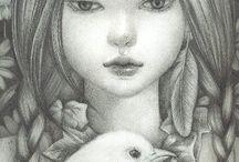 Alice in W:Kaori Ogawa / Alice in wonderland (illustrator)