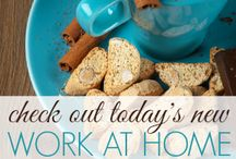 Work at Home Job Leads / Job Leads posted every day for job seekers looking for work at home and wanting to telecommute. #workathome / by Kelly @ Money Making Mommy